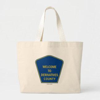 Dé la bienvenida a los derivados al condado el hu bolsa