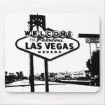 Dé la bienvenida al gráfico de vector de Las Vegas Tapetes De Ratones