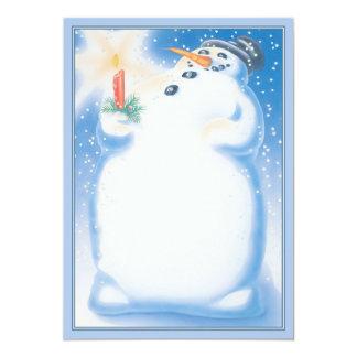 """© de la bola de nieve invitación 5"""" x 7"""""""