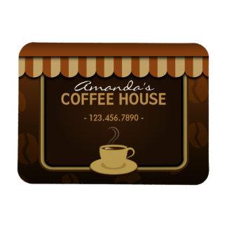De la cafetería del café pequeños Flexi imanes de