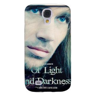 De la caja ligera y de la oscuridad del iPhone 3 Funda Para Galaxy S4