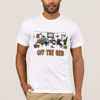 De la camiseta del operador de equipo de