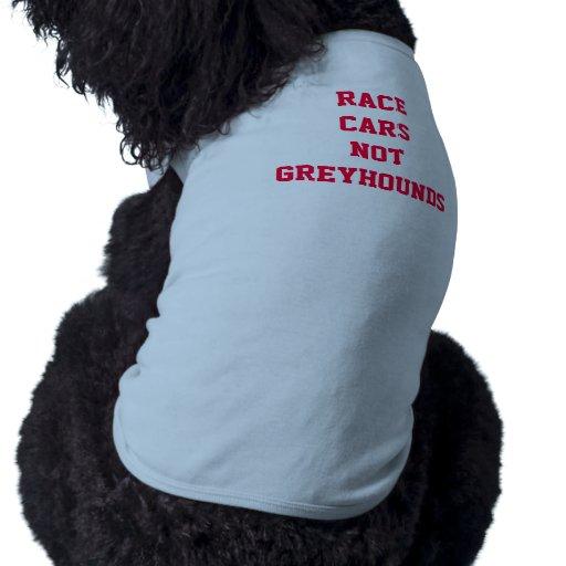 """""""♥ de la camiseta del perrito de los GALGOS de los Playera Sin Mangas Para Perro"""
