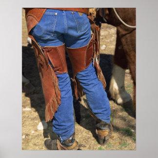 De la cintura opinión abajo el vaquero impresiones