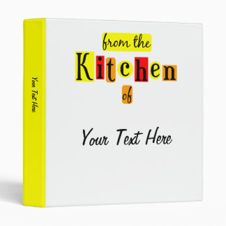 De la cocina de la carpeta de encargo retra de la