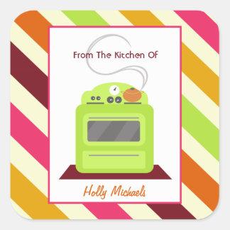 De la cocina… de la estufa y de rayas verdes