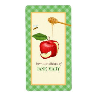 De la cocina - de la etiqueta con Apple 2 y Ging Etiquetas De Envío