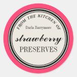 """""""De la cocina"""" de la etiqueta, cotos de fresa"""