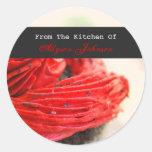 De la cocina de los pegatinas de la magdalena