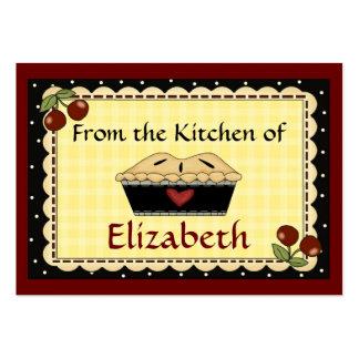 De la cocina de tarjetas por SRF Tarjeta De Visita