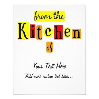 De la cocina del aviador de enlatado de encargo re