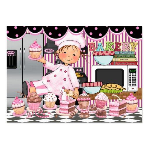 De la cocina - el cocinero feliz - SRF Tarjetas De Visita Grandes