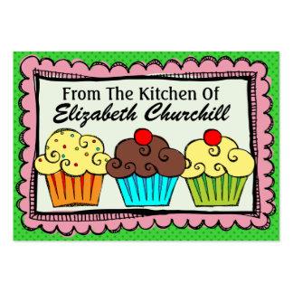 De la cocina - SRF Plantilla De Tarjeta De Visita
