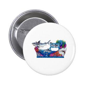 De la colección de los tiburones por FishTs.com Pin
