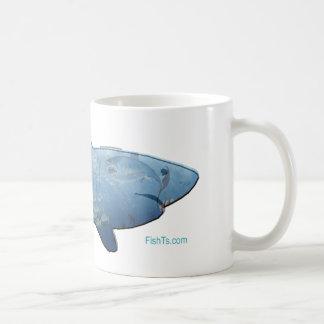 De la colección de los tiburones taza básica blanca