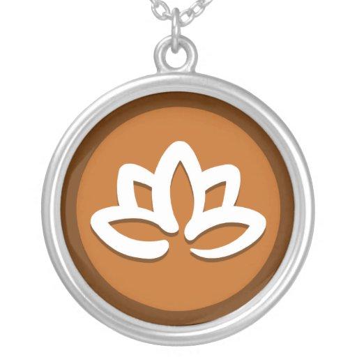 "De la ""collar flor de Lotus"" de la yoga"