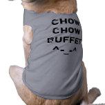 ^-_-^ de la comida fría del perro chino de perro c ropa para mascota