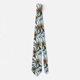 """De la """"corbata del jardín de flores margarita #2 corbata personalizada"""