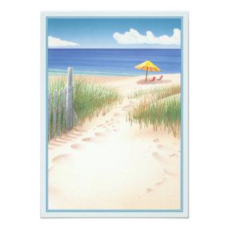 """© de la duna invitación 5"""" x 7"""""""