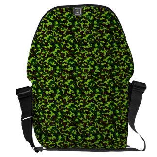 ~ de la élite del camuflaje (verde de la selva del bolsa messenger