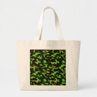 ~ de la élite del camuflaje (verde de la selva del bolsa tela grande