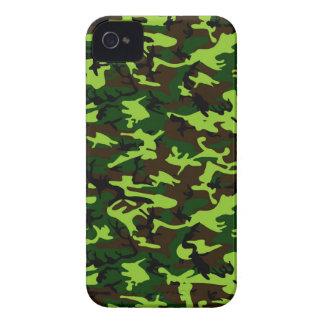 ~ de la élite del camuflaje (verde de la selva del iPhone 4 funda