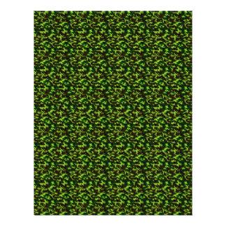 ~ de la élite del camuflaje (verde de la selva del membretes personalizados