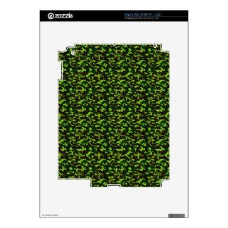 ~ de la élite del camuflaje (verde de la selva del skins para iPad 2