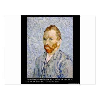 De la energía de Van Gogh coleccionable del regalo Tarjeta Postal