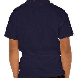 De la escuela la camiseta trasera hacia fuera remeras