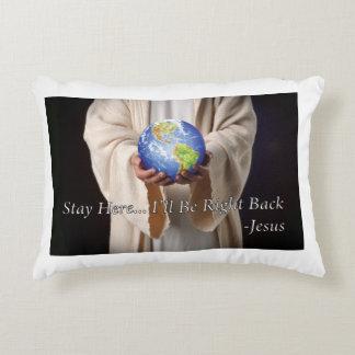De la estancia almohada de la fe de Jesús aquí Cojín