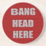 De la explosión de la cabeza humor de la oficina a posavasos manualidades