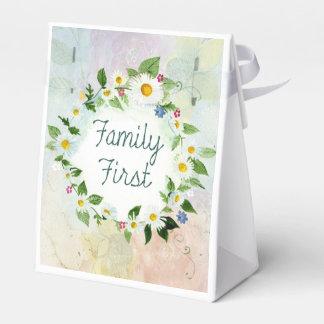 De la familia cita inspirada primero caja para regalo de boda