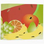 de la fruta todavía del vector cuaderno de la vida