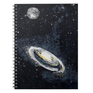 ~ de la GALAXIA ESPIRAL (un diseño del espacio Libro De Apuntes Con Espiral
