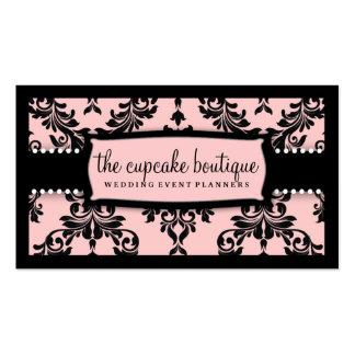 De la guinda del pastel 311 rosa dulce de la tarjetas de visita