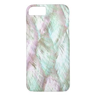 De la impresión caso rosado NACARADO del iPhone 7 Funda iPhone 7