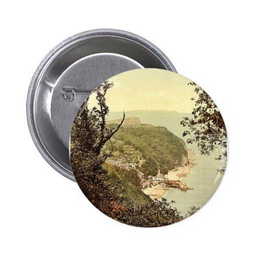 De la impulsión de la afición, Clovelly, vintage p Pin