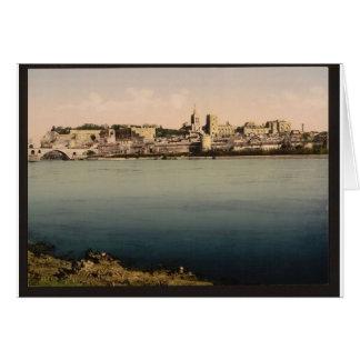 De la isla de Barthalasse, (es decir, Ile de la Ba Tarjeta De Felicitación