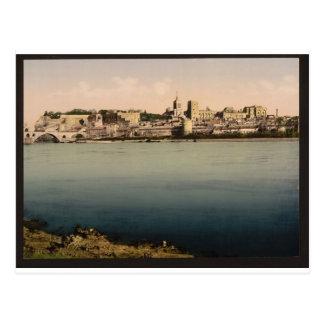 De la isla de Barthalasse, (es decir, Ile de la Tarjetas Postales
