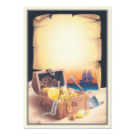 © de la isla del tesoro invitación 12,7 x 17,8 cm