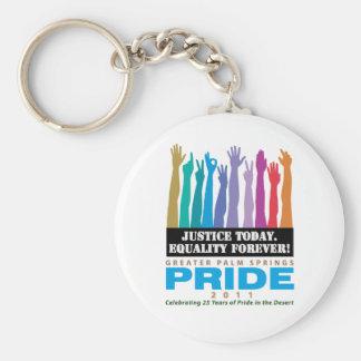 De la justicia igualdad hoy para siempre llaveros personalizados