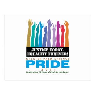 De la justicia igualdad hoy para siempre postales