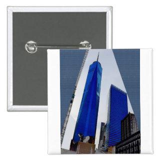 De la libertad de la torre de Nueva York centro de Pin Cuadrado