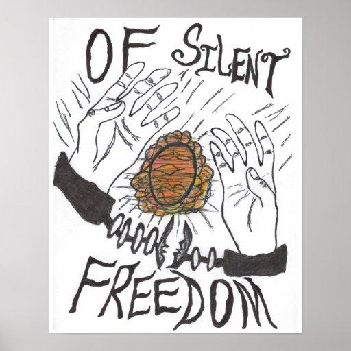 De la libertad silenciosa - poster