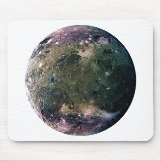 ~ de la LUNA GANYMEDE (Sistema Solar) de JÚPITER Tapetes De Ratones