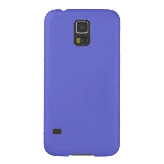 ~ de la LUZ del JACINTO (color azul sólido) Fundas De Galaxy S5
