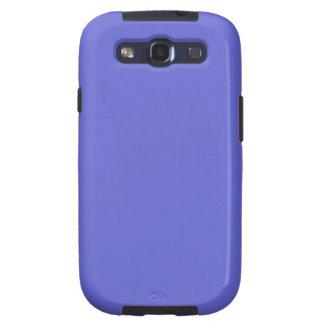 ~ de la LUZ del JACINTO (color azul sólido) Galaxy S3 Fundas