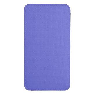 ~ de la LUZ del JACINTO (color azul sólido) Bolsillo Para Galaxy S4
