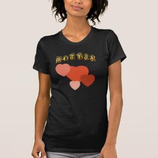 De la MADRE de los corazones camiseta a montones